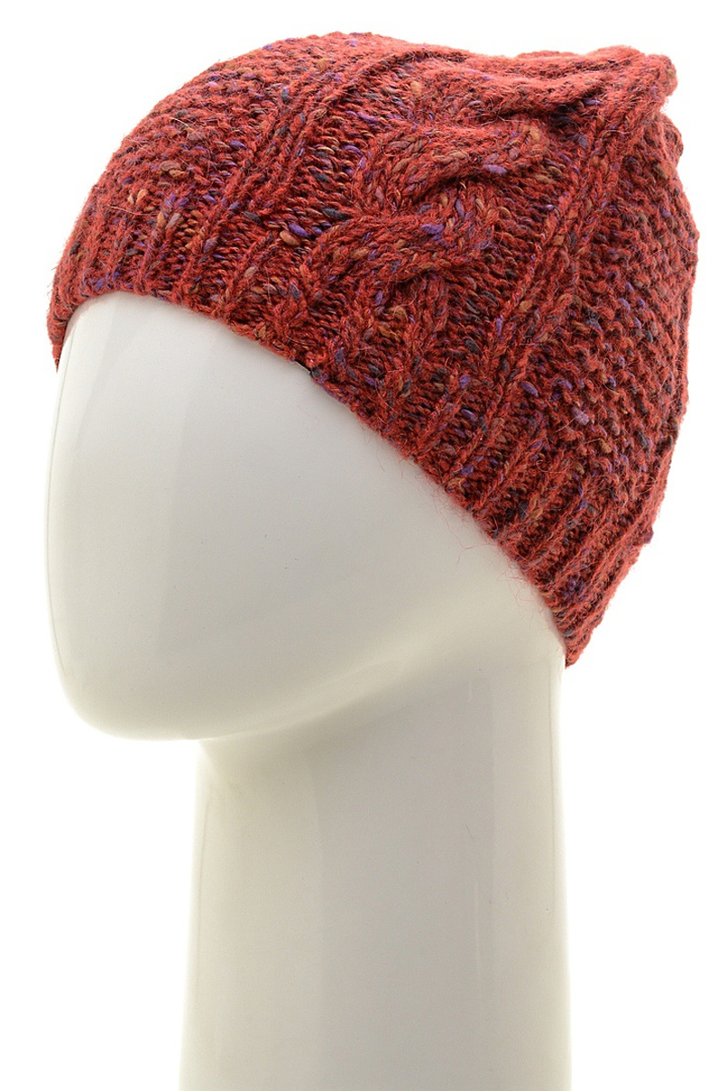 Шапка женская Marhatter, цвет: красный. Размер 56/58. MWH6875/2MWH6875/2Стильная шапка, выполнена из высококачественной пряжи. Модель очень актуальна для тех, кто ценит комфорт, стиль и красоту. Отличный вариант на каждый день.