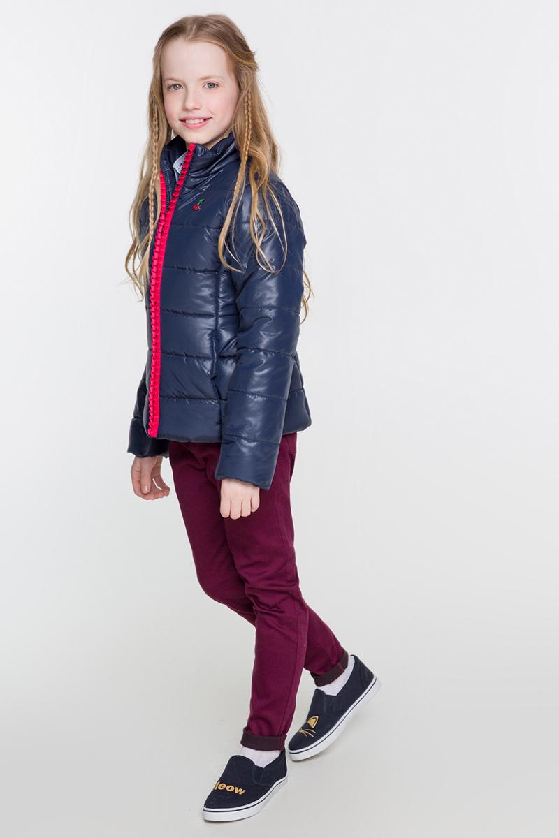 Куртка для девочки Acoola Dundee, цвет: темно-синий. 20210130109. Размер 164 infinity by acoola для мальчиков dundee синий
