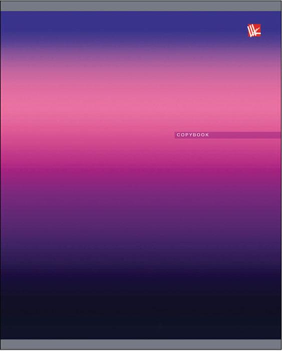 Канц-Эксмо Тетрадь Градиенты цвета 48 листов в клеткуТК2Л485364Тетрадь А5 48л., скрепка, клетка, обложка: мелованный картон, твин-лак, бумага офсетная 60 г/м2. Градиенты цвета 48л., в ассортименте