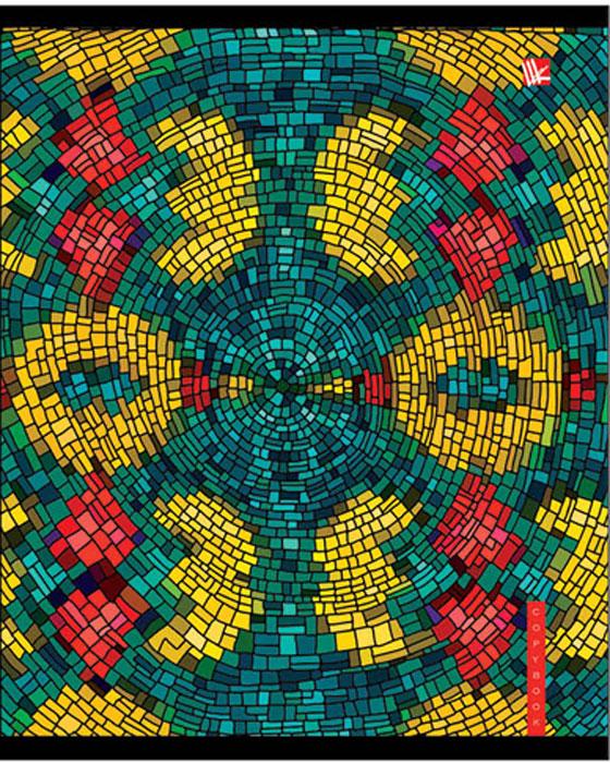 Канц-Эксмо Тетрадь Красочная мозаика 48 листов в клеткуТК485194Тетрадь А5 48л., скрепка, клетка, обложка: хромэрзац бумага офсетная 60 г/м2, блок, в ассортименте. Красочная мозаика (хромэрзац) 48 л., в ассортименте