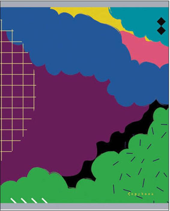 Канц-Эксмо Тетрадь Глубина цвета 48 листов в клеткуТК485406Тетрадь А5 48л., скрепка, клетка, обложка: мелованный картон, матовая ламинация с эффектом Мокрый шелк, бумага 60 гр/м2 Глубина цвета 48л., в ассортименте