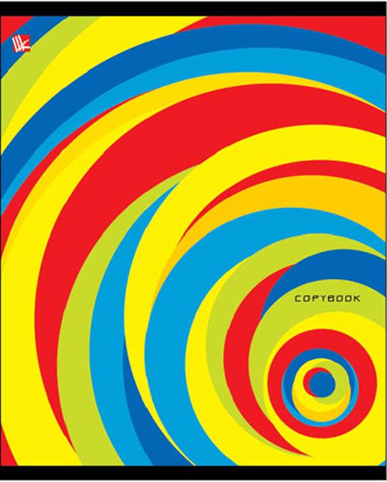 Канц-Эксмо Тетрадь Яркая графика 96 листов в клеткуТК965012Тетрадь А5 96л., скрепка, клетка, обложка: мелованный картон, гл. ламин, бумага офсетная 60 г/м2. в ассортименте, Яркая графика (клетка), в ассортименте