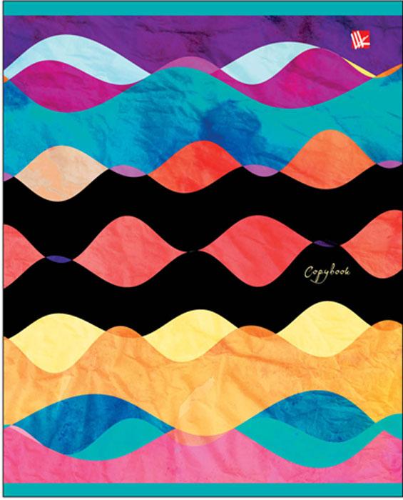 Канц-Эксмо Тетрадь Цветные абстракции 96 листов в клеткуТК965291Тетрадь А5 96л., скрепка, клетка, обложка: мелованный картон, матовая ламинация бумага офсетная 60 г/м2. в ассортименте, Цветные абстракции 96л., в ассортименте