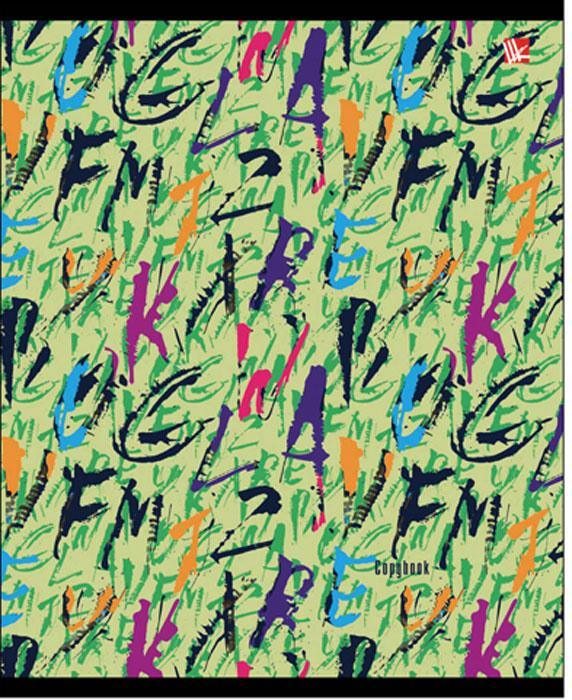 Канц-Эксмо Тетрадь Яркий стиль 96 листов в клеткуТЛ965279Тетрадь А5 96л., скрепка, клетка, обложка: мелованный картон, выборочный лак, бумага офсетная 60 г/м2. в ассортименте, Яркий стиль (шрифты, в ассортименте