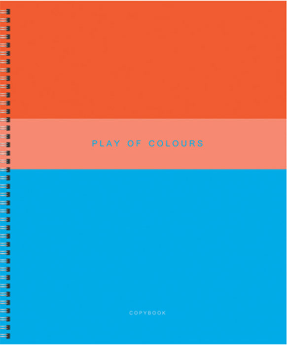 Канц-Эксмо Тетрадь Игра цвета 96 листов в клеткуТСЛ965233Тетрадь А5 96л. Гребень. Клетка. Обложка: мелованный картон, пантонная печать, выборочный лак, бумага 60г/м2 Игра цвета 96л., в ассортименте