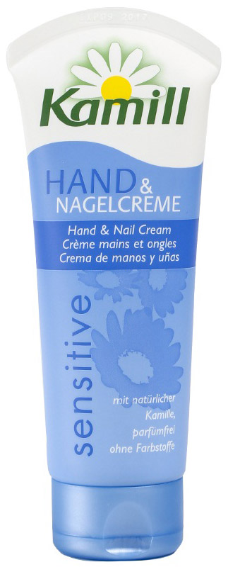 Крем для рук и ногтей Kamill Sensitiv, для чувствительной кожи, 100 мл26950028Крем для рук и ногтей Kamill Sensitiv - это мягкий уход за чувствительной кожей. Формула ухода без парфюма, но с экстрактом ромашки дарит благодатную влагу. Руки и ногти остаются защищенными, а Ваша кожа успокоена природным путем и остается нежной и эластичной.Крем не содержит красителей, рН-нейтрален, проверен дерматологически.Характеристики:Объем: 100 мл. Артикул: 930262. Производитель: Германия. Kamill - линия косметических средств на основе экстракта ромашки, которая производится немецкой компанией Burnus GmbH. Она включает в себя большой выбор кремов и лосьонов для рук и ногтей, средства по уходу за лицом и телом, а также гели для душа и пены для ванны. Центральный компонент марки - ромашка - оказывает на кожу успокаивающее и противовоспалительное действие. В течение столетий кремы для рук, мази и настои, изготовленные из цветков ромашки, помогали снимать раздражение и смягчать кожу. Чудесное растение брало свою силу у всех четырех стихий: земли, воды, воздуха и солнца. Теперь ромашка, заботливо выращиваемая в тщательно контролируемых, экологически безупречных условиях, дарит вам свои целебные свойства в кремах и лосьонах для рук Kamill. Линия средств Kamill по уходу за лицом и телом - качественная косметика для женщин, которая понравится даже самой требовательной коже.Товар сертифицирован. Уважаемые клиенты!Обращаем ваше внимание на возможные изменения в дизайне упаковки. Качественные характеристики товара остаются неизменными. Поставка осуществляется в зависимости от наличия на складе.