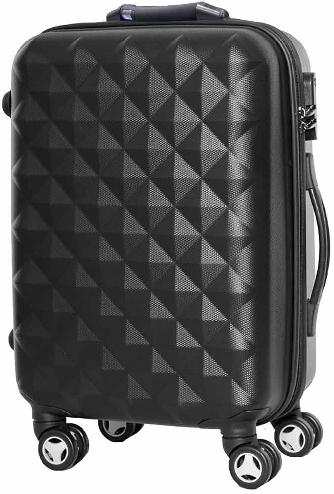 Чемодан Proffi, на колесах, цвет: черный, 43 х 30 х 67, 60 лPH8645blackЭксклюзивный чемодан со встроенными в ручку весами. С умным чемоданом с весами вы сразу узнаете вес собранного чемодана и больше не придется платить за перевес в аэропорту. Весы не занимают дополнительного места, с легкостью включаются при необходимости и работают от батарейки, которую легко заменить. Чемодан изготовлен из легкого и прочного поликарбоната, снабжен кодовым замком, независимыми, прорезиненными колесами, выдвижной и боковой ручками для удобной транспортировки. Вес: 4,3 кг; объем: 60 л.Размер: 43 х 30 х 67 см.