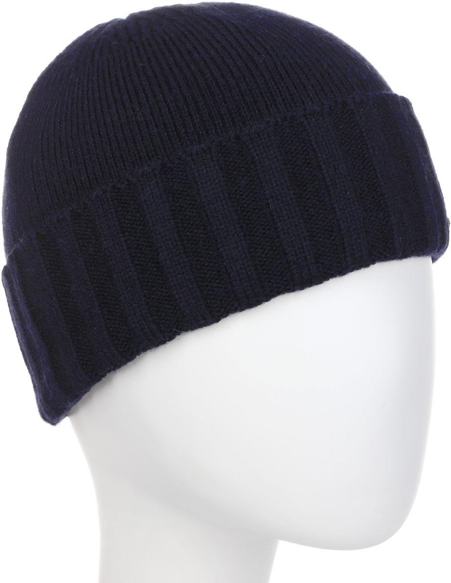 Шапка мужская Fabretti, цвет: темно-синий. F2017-51-98. Размер универсальныйF2017-51-98Классическая мужская шапка Fabretti отлично дополнит ваш образ в холодную погоду. Сочетание шерсти и акрила максимально сохраняет тепло и обеспечивает удобную посадку, невероятную легкость и мягкость. Оформлено изделие небольшой металлической пластиной с названием бренда. Стильная шапка подчеркнет ваш неповторимый стиль и индивидуальность.
