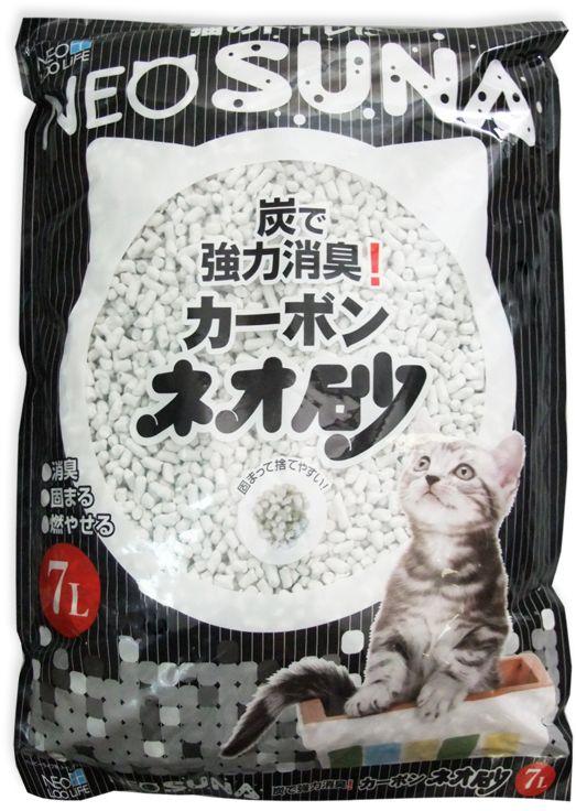 Наполнитель для кошачьего туалета Кочо  Neo Loo Life , комкующийся, с активированным углем, 7 л - Наполнители и туалетные принадлежности