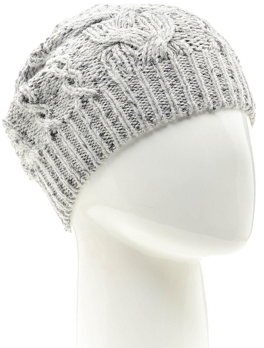 Шапка женская Marhatter, цвет: светло-серый. Размер 56/58. MWH6527/2MWH6527/2Стильная шапка-колпак, выполнена из высококачественной пряжи. Модель очень актуальна для тех, кто ценит комфорт, стиль и красоту. Отличный вариант на каждый день.