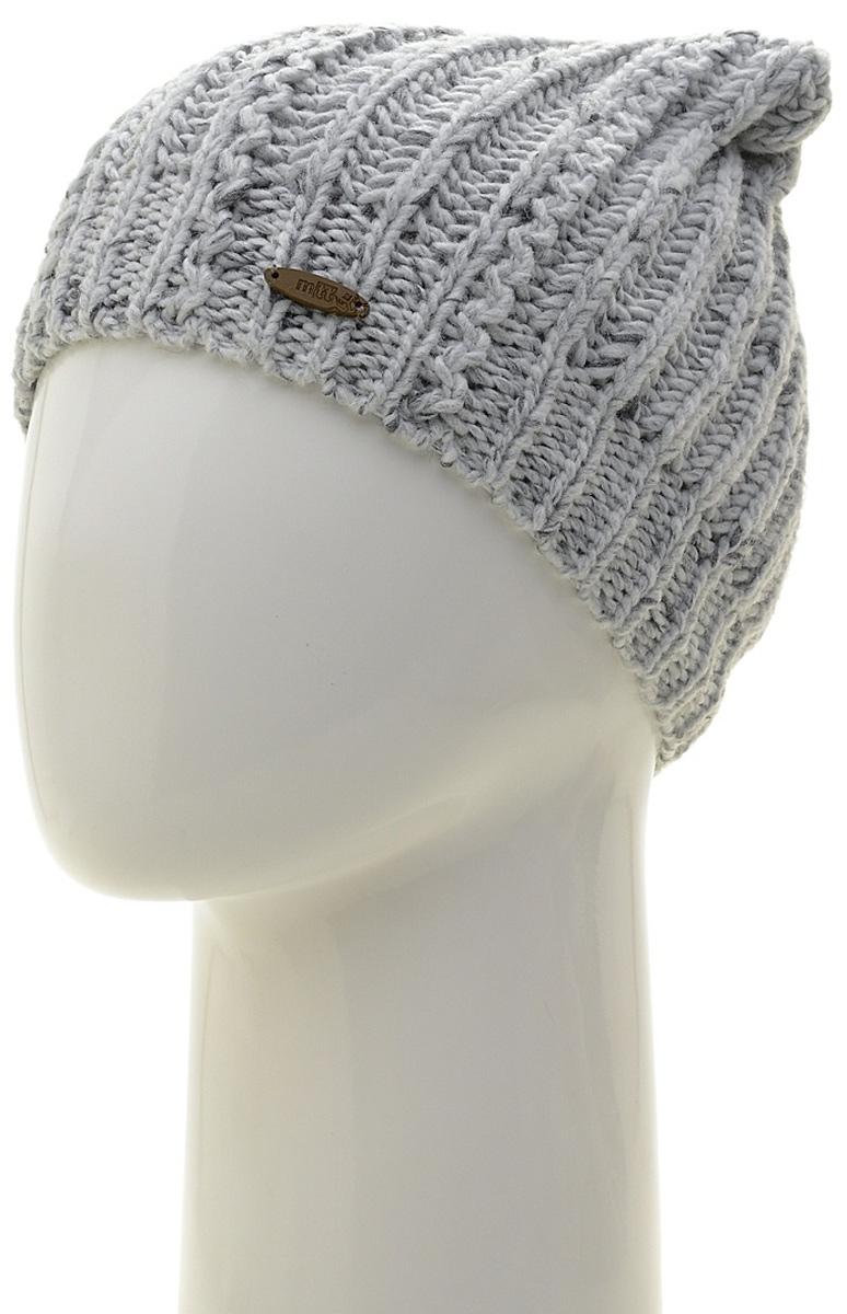Шапка женская Marhatter, цвет: светло-серый. Размер 56/58. MWH7082/2