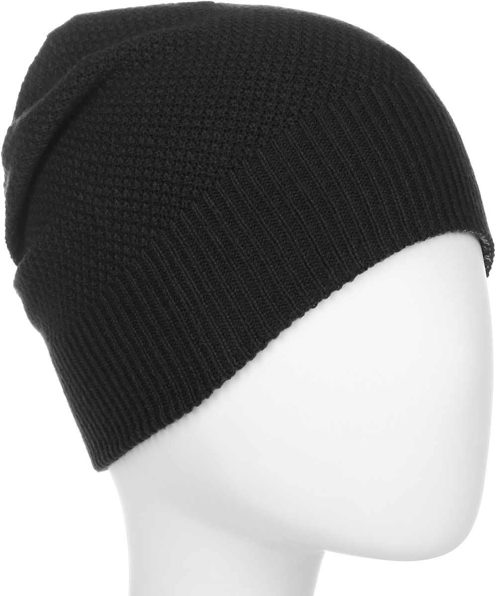 Шапка женская Adidas W Cl Beanie Rev, цвет: черный, серый. BR9993. Размер 54/55BR9993Спортивная женская шапка adidas Classic Reversible выполнена из полиакрила. Мягкая двухсторонняя зимняя шапка оформлена полосатым акцентом с одной стороны и однотонным узором с другой.