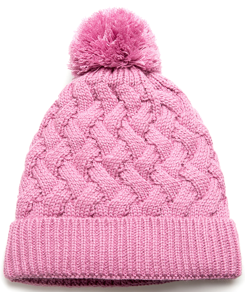 Шапка для девочки Acoola Naton, цвет: розовый. 20216400027. Размер L (54)20216400027Детская шапка от Acoola выполнена из натуральной акриловой пряжи и декорирована помпоном. Такая шапка согреет вашего ребенка в холодное время года.