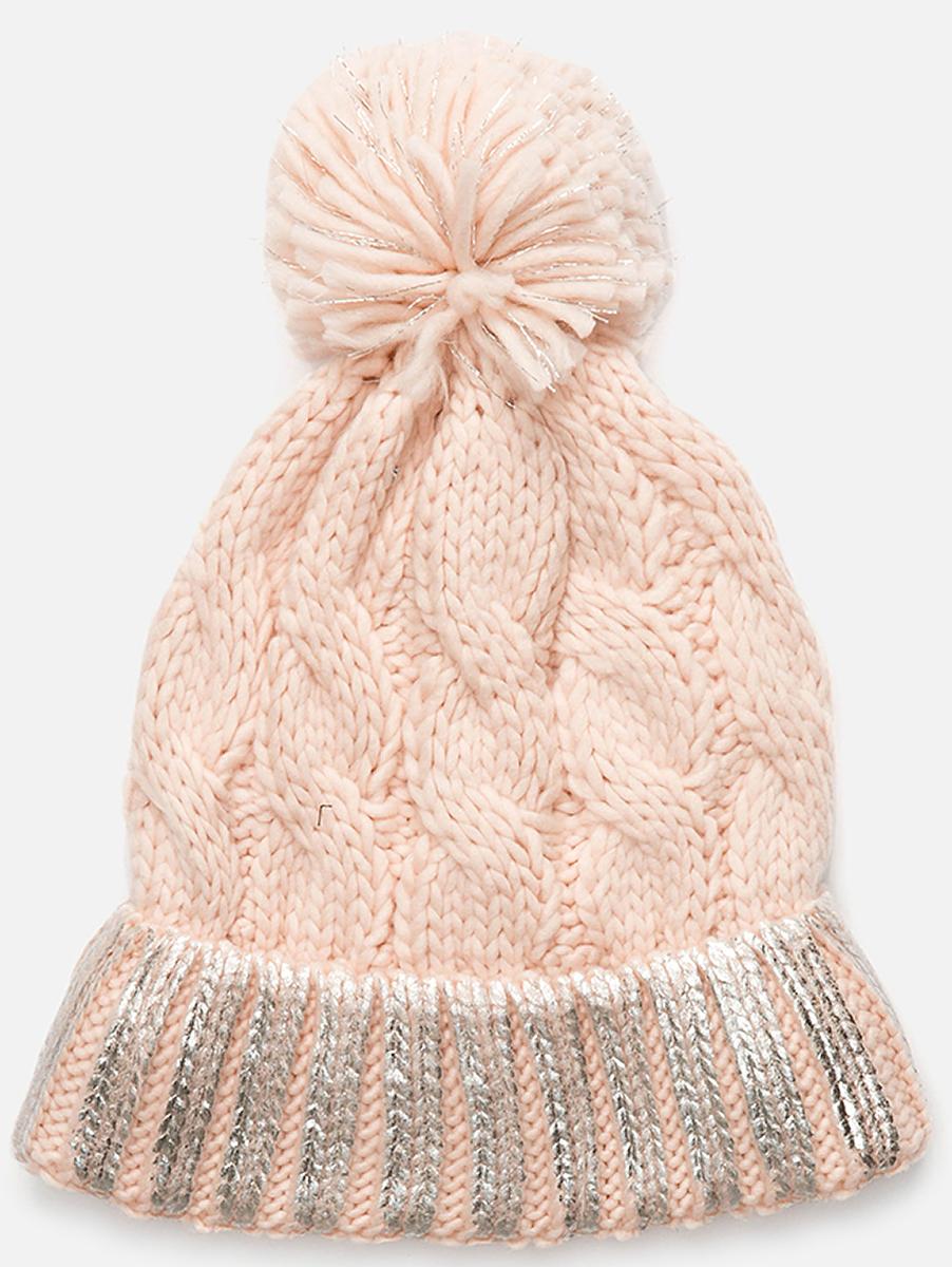 Шапка для девочки Acoola Nommy, цвет: светло-розовый. 20236400042. Размер M (52)20236400042Детская шапка от Acoola выполнена из натуральной акриловой пряжи и декорирована помпоном. Такая шапка согреет вашего ребенка в холодное время года.