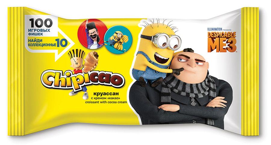 Chipicao Круассан с кремом Какао, 60 г55500Chipicao - идеальное сочетание еды и веселья!Chipicao - это круассаны и коллекционный подарок с любимыми героями в каждой упаковке.