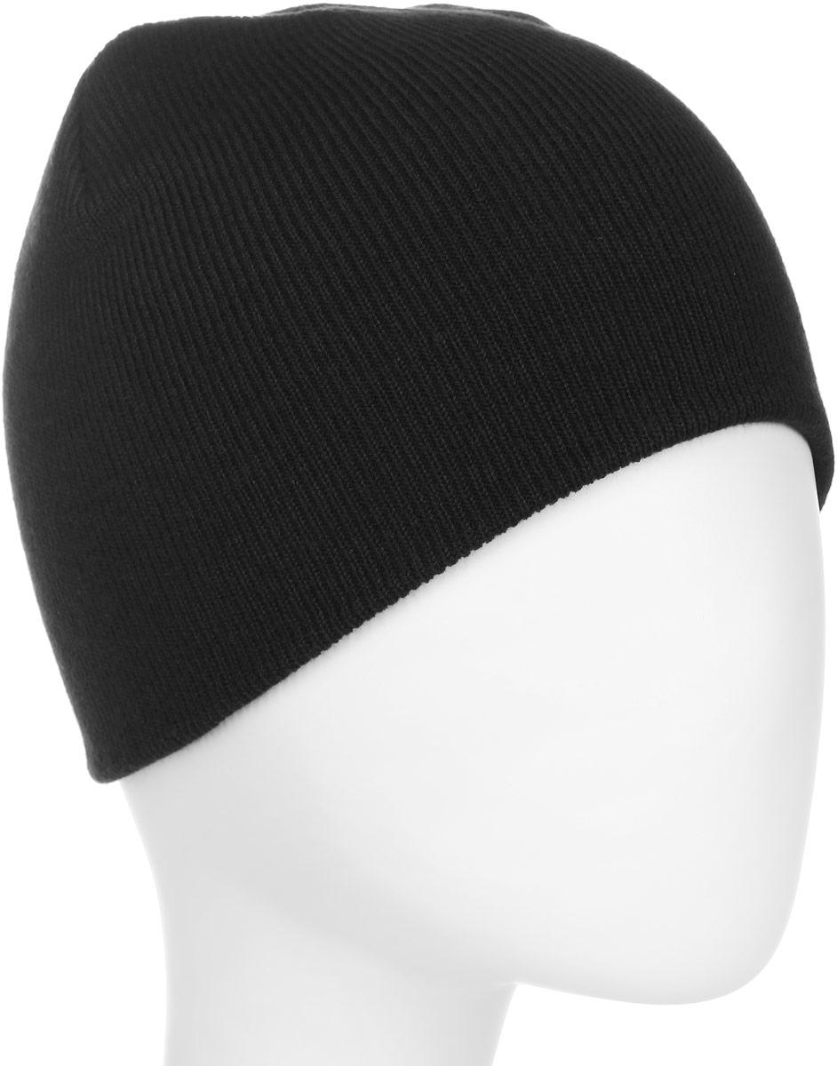 Шапка мужская Quiksilver, цвет: черный. EQYHA03101-KVJ0. Размер универсальныйEQYHA03101-KVJ0Вязаная шапка Quiksilver выполнена из акрила. Модель тонкой вязки плотно прилегает к голове. Изделие оформлено фирменной нашивкой.