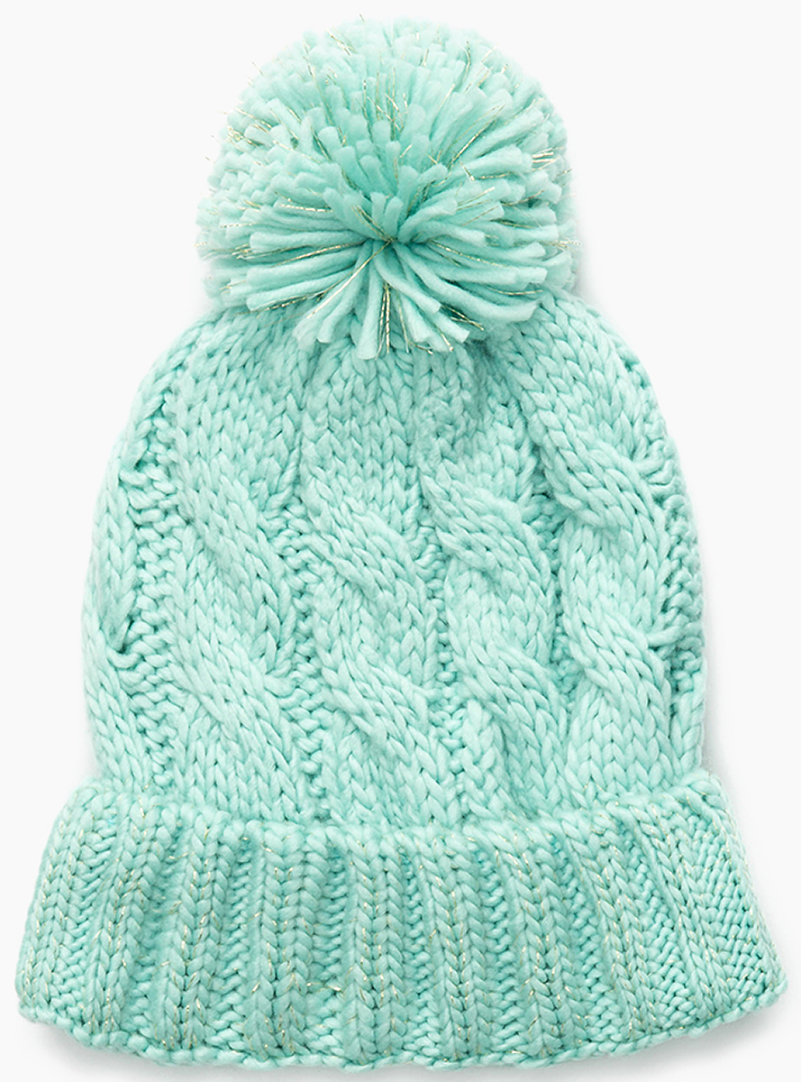 Шапка для девочки Acoola Riano, цвет: светло-бирюзовый. 20236400041. Размер M (52)20236400041Детская шапка от Acoola выполнена из натуральной акриловой пряжи и декорирована помпоном. Такая шапка согреет вашего ребенка в холодное время года.