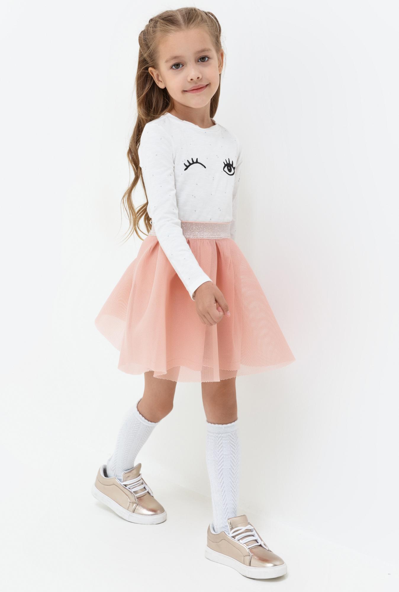 Юбка для девочек Acoola Kaya, цвет: светло-розовый. 20220180053. Размер 11620220180053