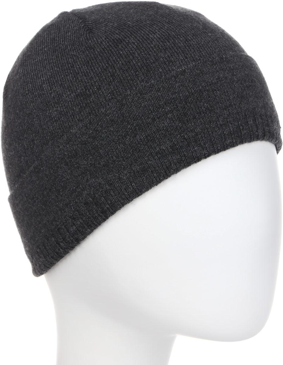 Шапка мужская Fabretti, цвет: темно-серый. F2017-45-44. Размер универсальныйF2017-45-44Классическая мужская шапка Fabretti отлично дополнит ваш образ в холодную погоду. Сочетание шерсти и акрила максимально сохраняет тепло и обеспечивает удобную посадку, невероятную легкость и мягкость. Оформлено изделие небольшой металлической пластиной с названием бренда. Стильная шапка подчеркнет ваш неповторимый стиль и индивидуальность.