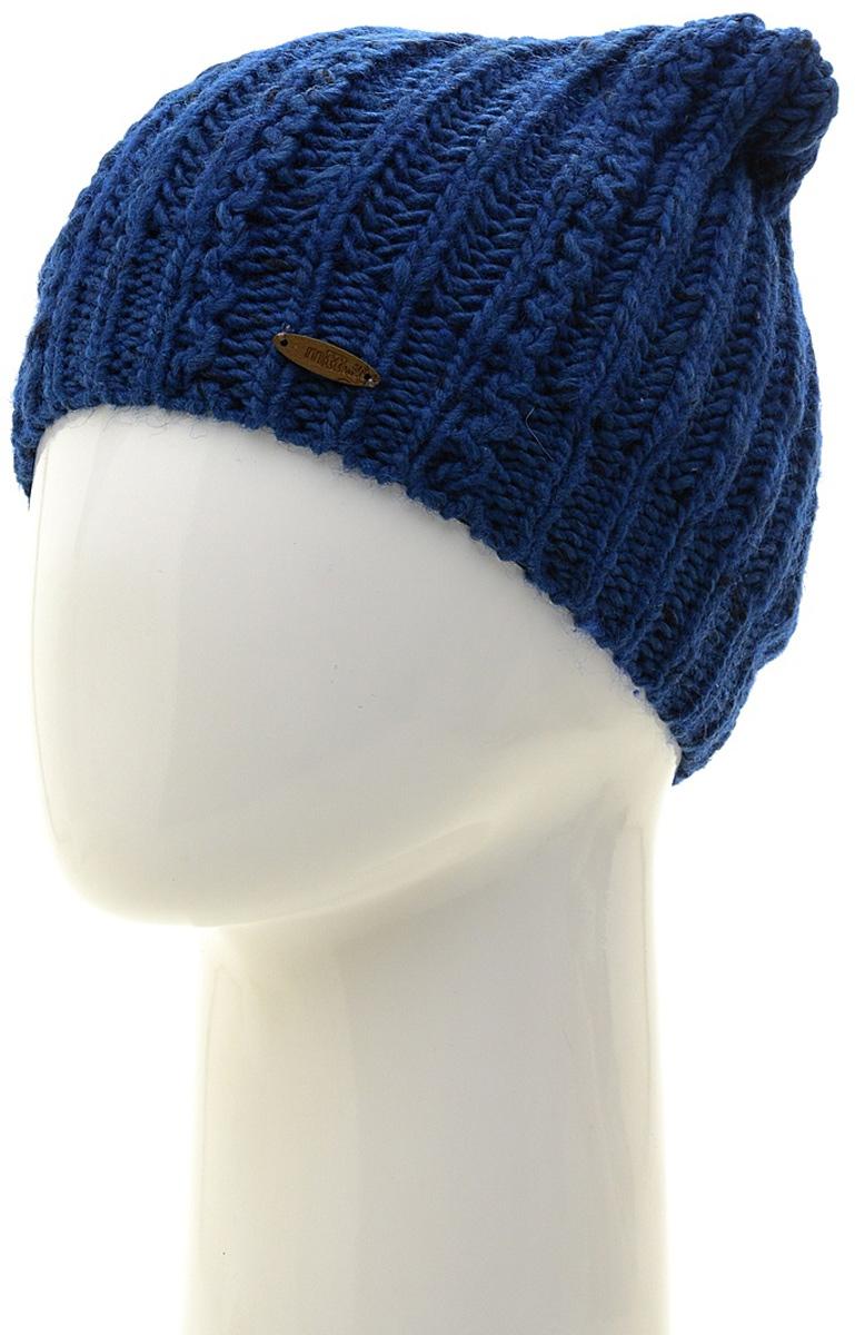 Шапка женская Marhatter, цвет: синий. MWH7082/2. Размер 56/58MWH7082/2Модная шапка кошка в стиле Yeti. Модель отлично подойдет современным модницам, которые хотят проявить свою индивидуальность.