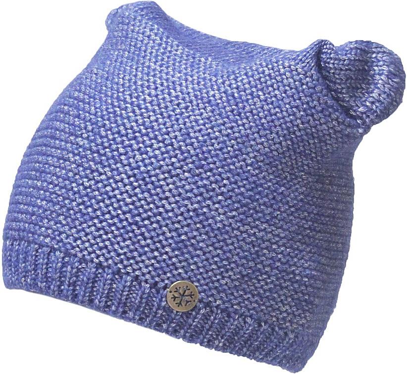 Шапка женская Marhatter, цвет: синий. MWH7192/2. Размер 56/58MWH7192/2Модная шапка кошка в стиле Yeti. Модель отлично подойдет современным модницам, которые хотят проявить свою индивидуальность.