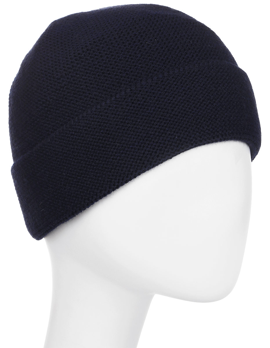 Шапка мужская Fabretti, цвет: темно-синий. F2017-44-98. Размер универсальныйF2017-44-98Классическая мужская шапка Fabretti отлично дополнит ваш образ в холодную погоду. Сочетание шерсти и акрила максимально сохраняет тепло и обеспечивает удобную посадку, невероятную легкость и мягкость. Оформлено изделие небольшой металлической пластиной с названием бренда. Стильная шапка подчеркнет ваш неповторимый стиль и индивидуальность.