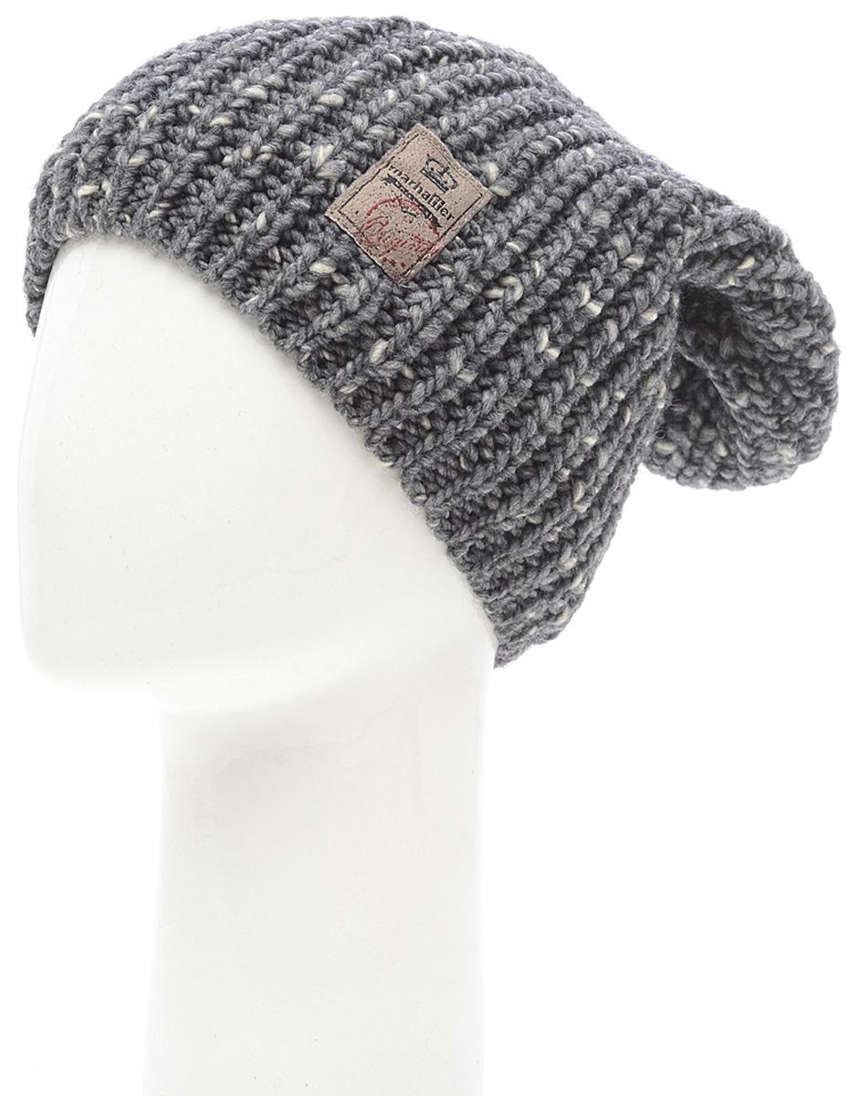 Шапка женская Marhatter, цвет: темно-серый. Размер 56/58. MWH7053/2MWH7053/2Теплая шапка из высококачественной пряжи оформлена оригинальной вязкой. Практичный и стильный вариант, который идеально дополнит ваш современный образ.