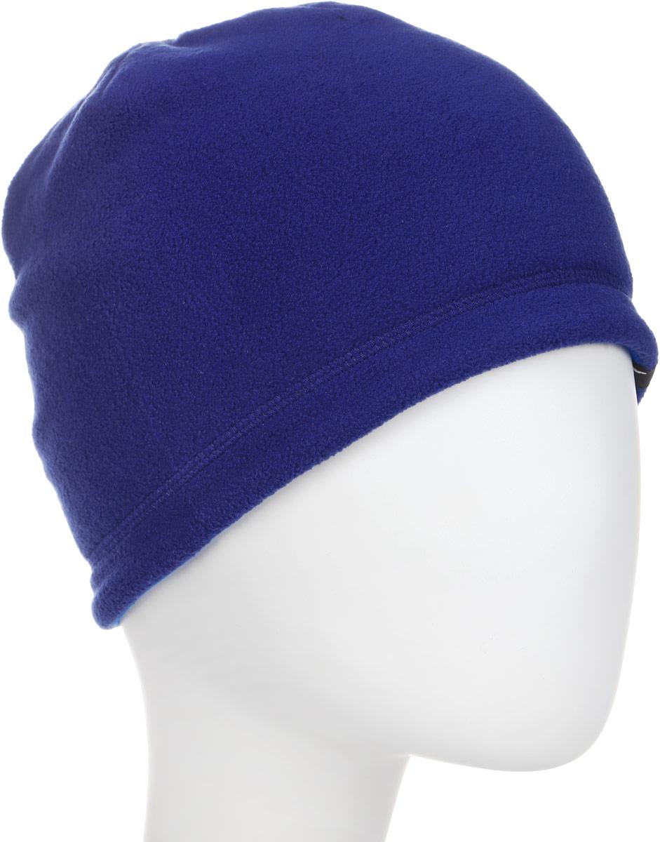 Шапка Puma Active Fleece Beanie, цвет: синий. 02127002. Размер универсальный02127002Стильная шапка плотной вязки, которую можно носить на обе стороны, изготовлена с использованием высокофункциональной технологии WarmCell, которая благодаря дышащим свойствам материала удерживает тепло и сохраняет оптимальную температуру вашего тела даже в холодную погоду. Дополнительную изоляцию создает двойная подкладка из флиса. Комфорт и долговечность в носке обеспечивают плоские швы. Спереди шапочка декорирована логотипом Puma из светоотражающего материала, нанесенным методом термопечати, а сзади снабжена логотипом WarmCell.Подходит на обхват головы 54-58 см.