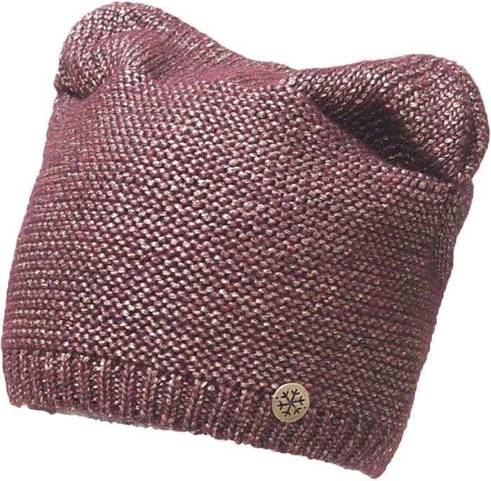 Шапка женская Marhatter, цвет: темно-розовый. MWH7192/2. Размер 56/58MWH7192/2Модная шапка кошка в стиле Yeti. Модель отлично подойдет современным модницам, которые хотят проявить свою индивидуальность.