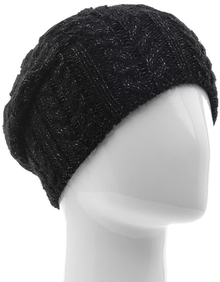 Шапка женская Marhatter, цвет: черный, белый. MWH5739/6. Размер 56/58MWH5739/6Стильная шапка-колпак, выполнена из высококачественной пряжи. Модель очень актуальна для тех, кто ценит комфорт, стиль и красоту. Отличный вариант на каждый день.