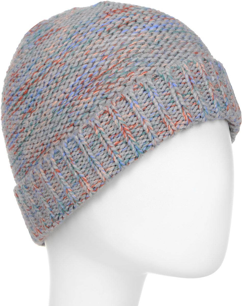 Шапка женская Roxy, цвет: светло-серый. ERJHA03311-SGRH. Размер универсальныйERJHA03311-SGRHСтильная женская шапка дополнит ваш наряд и не позволит вам замерзнуть в холодное время года. Шапка крупной вязки выполнена из акрила, что позволяет ей великолепно сохранять тепло и обеспечивает высокую эластичность и удобство посадки.Шапка оформлена отворотом и объемными вязаными узорами.Такая шапка станет модным и стильным дополнением вашего зимнего гардероба. Она согреет вас и позволит подчеркнуть свою индивидуальность!