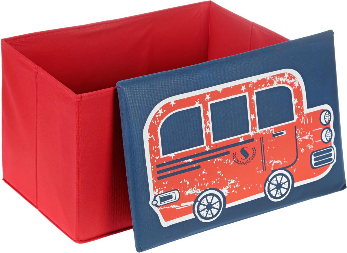 Кофр для хранения  Автобус , 49 х 30 х 30 см -  Ящики для игрушек