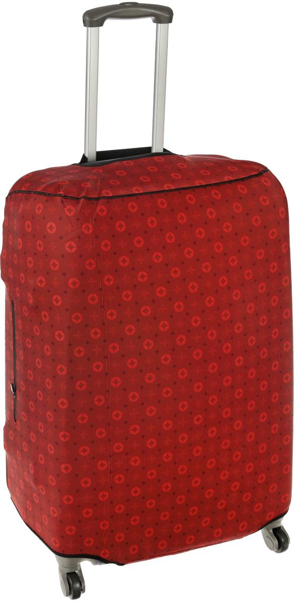 Чехол для чемодана Mettle  Scarlet , размер L (высота чемодана: 75-82 см) - Чемоданы и аксессуары