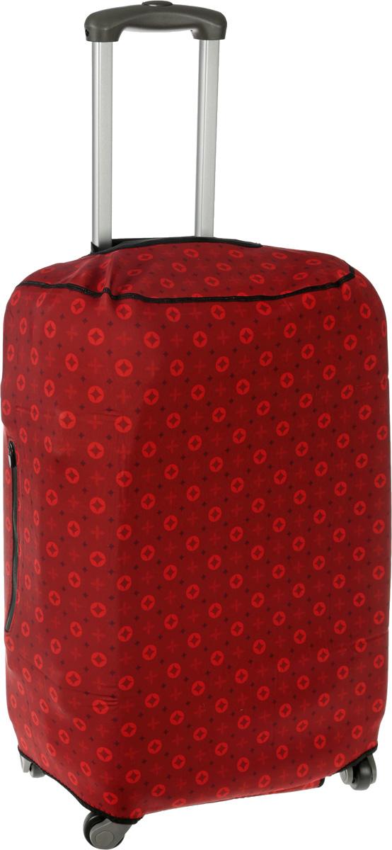 Чехол для чемодана Mettle  Scarlet , размер M (высота чемодана: 65-75 см) - Чемоданы и аксессуары