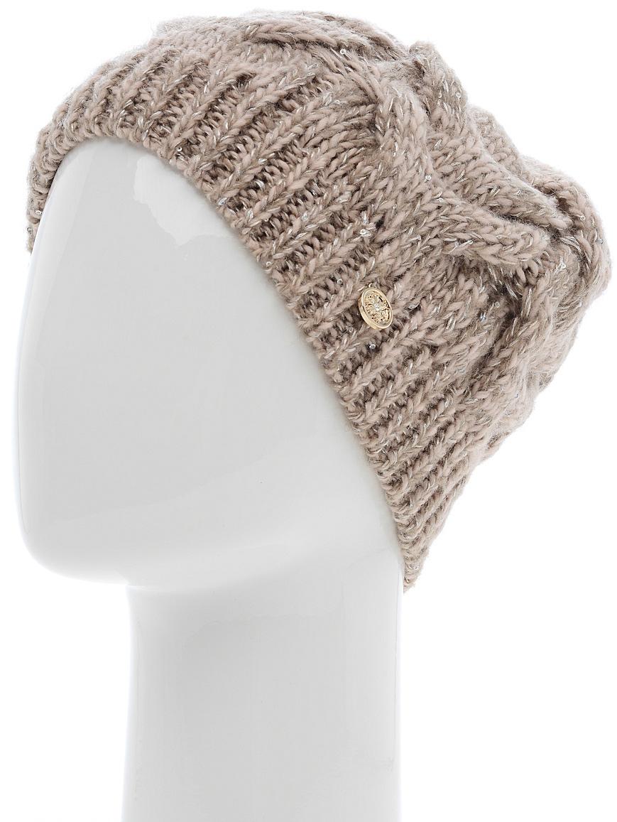 Шапка женская Snezhna, цвет: бежевый. SWH4834/2. Размер 56/58SWH4834/2Теплая шапка Snezhna классической формы с объемными вывязанными косами. Отличный вариант на каждый день в холодное время года.Уважаемые клиенты!Размер, доступный для заказа, является обхватом головы.