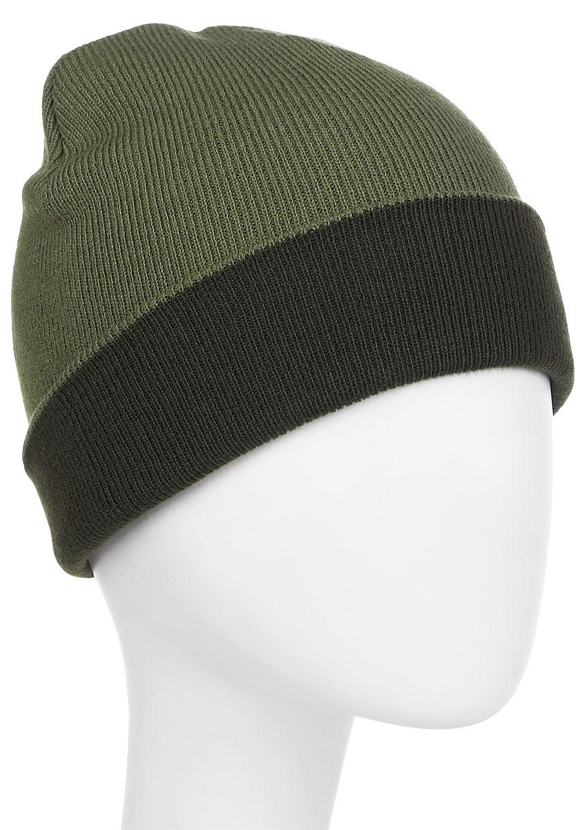 Шапка Jack Wolfskin Rib Hat, цвет: темно-зеленый. 1903891-5052. Размер универсальный1903891-5052Легкая шапка тонкой вязки Jack Wolfskin с широким отворотом. Особое тепло для ваших ушей: шапка RIB— классический неотъемлемый атрибут для приключений в зимнюю погоду. Модель выполнена из двухслойного материала тонкой вязки, чтобы она была легкой и хорошо согревала. Так она помещается в любую сумку и везде будет вместе с вами.Шапка выполнена в одной цветовой гамме и дополнена логотипом бренда. При широком отвороте нижний край дополнительно защищает уши.Такая шапка составит идеальный комплект с модной верхней одеждой, в ней вам будет уютно и тепло.