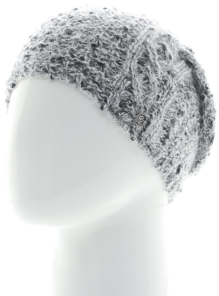 Шапка женская Snezhna, цвет: белый. SWH6841/2. Размер 56/58SWH6841/2Стильная шапка Snezhna, выполнена из высококачественной пряжи. Модель очень актуальна для тех, кто ценит комфорт, стиль и красоту. Отличный вариант на каждый день.Уважаемые клиенты!Размер, доступный для заказа, является обхватом головы.
