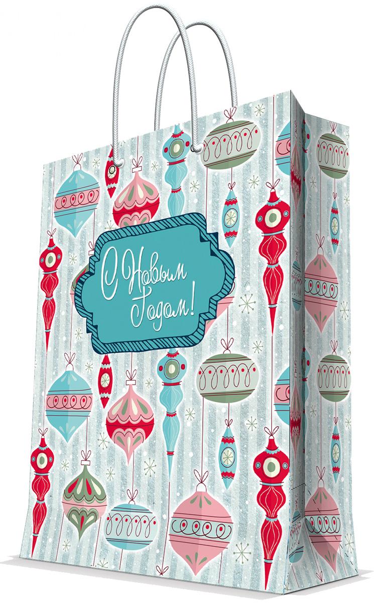 Пакет подарочный Magic Time Стеклянные сосульки, 17,8 х 22,9 х 9,8 см75354Новогодний подарочный пакет Стеклянные сосульки от Magic Time - это стильный и практичный вариант упаковки подарка к любимому всеми празднику. Авторский дизайн, красочное изображение, тематический рисунок - все слагаемые оригинального оформления подарка. Окружите близких людей вниманием и заботой, вручив презент в нарядном, праздничном оформлении. Пакет с матовой ламинацией изготовлен из плотной бумаги. Для удобства переноски имеются две веревочные ручки. Дно укреплено картоном. Подарочный пакет с 3-х цветным тиснением придаст дополнительный запоминающийся эффект от подарка или покупки.