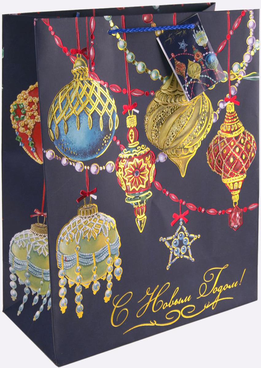 Пакет подарочный Magic Time Яркие игрушки, 26 х 32,4 х 12,7 см magic time подарочный пакет новогодняя лампа 26 32 4 12 7 см