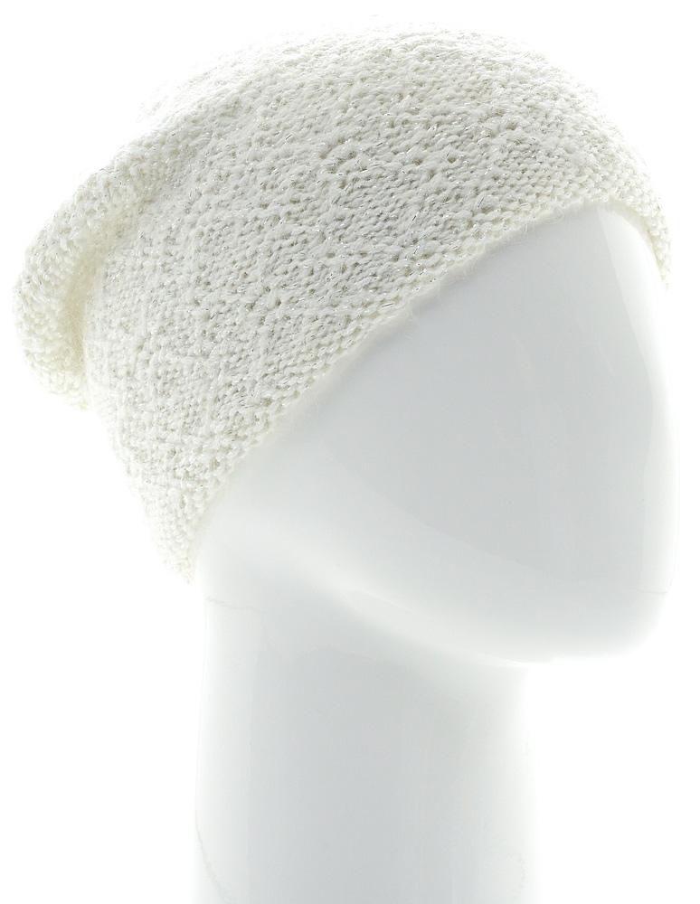 Шапка женская Snezhna, цвет: белый. SWH6843/3. Размер 56/58SWH6843/3Стильная шапка-колпак Snezhna, выполнена из высококачественной пряжи. Модель очень актуальна для тех, кто ценит комфорт, стиль и красоту. Отличный вариант на каждый день.Уважаемые клиенты!Размер, доступный для заказа, является обхватом головы.