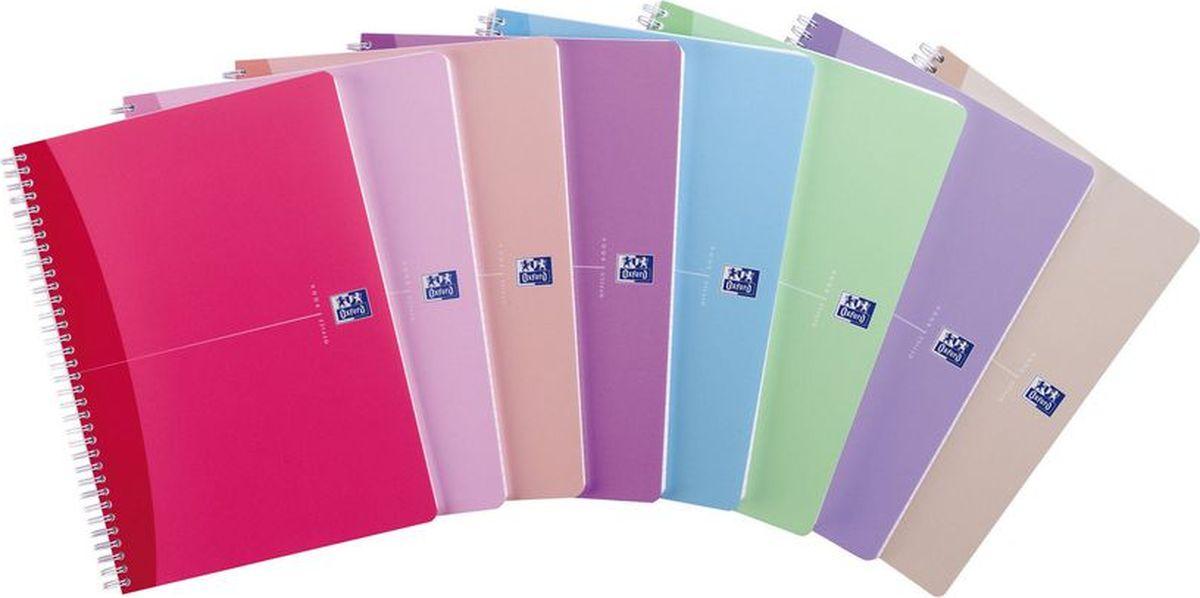 Oxford Бизнес-тетрадь Woman Notebook 90 листов в клетку 5 шт 100101543100101543Блокноты Oxford Woman Noteb идеально подойдут для ежедневных записей и заметок для активных, целеустремленных людей. Яркие, насыщенные цвета блокнотов Woman Notebook не оставит равнодушной ни одну женщину.Основные характеристики:Прочная, гибкая, водонепроницаемая полупрозрачная обложка из пластикаДвойная белая спиральУникальная бумага Optik Paper 90г/м2 (90 листов)Закладка-линейка из гибкого матового полупрозрачного пластика