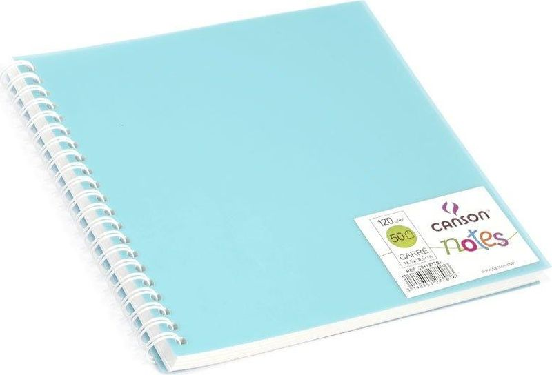 Canson БлокнотдлязарисовокCansonNotesцвет голубой 50 листов 204127707204127707Блокноты Canson Notes прекрасно подходят для современных художников. Они идеальны для ежедневных записей, набросков, карандаша, пастели и чернил.Благодаря высококачественной бумаге, гелиевые и масляные чернила не просачиваются, а пластиковая обложка защищает листы от смятия.Бумага в блокнотах соответствует международному стандарту ISO 9706, не содержит кислот, производится без применения оптических отбеливателей, устойчива к плесени.