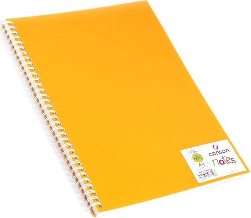 Canson БлокнотдлязарисовокCansonNotesцвет оранжевый 50 листов 204127710204127710Блокноты Canson Notes прекрасно подходят для современных художников. Они идеальны для ежедневных записей, набросков, карандаша, пастели и чернил.Благодаря высококачественной бумаге, гелиевые и масляные чернила не просачиваются, а пластиковая обложка защищает листы от смятия.Бумага в блокнотах соответствует международному стандарту ISO 9706, не содержит кислот, производится без применения оптических отбеливателей, устойчива к плесени.