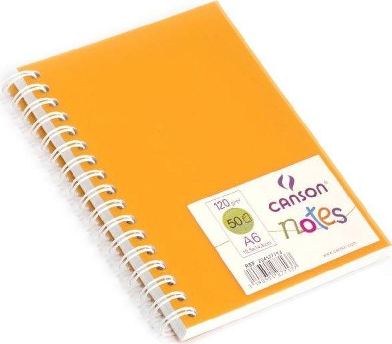 Canson БлокнотдлязарисовокCansonNotesцвет оранжевый 50 листов 204127713204127713Блокноты Canson Notes прекрасно подходят для современных художников. Они идеальны для ежедневных записей, набросков, карандаша, пастели и чернил.Благодаря высококачественной бумаге, гелиевые и масляные чернила не просачиваются, а пластиковая обложка защищает листы от смятия.Бумага в блокнотах соответствует международному стандарту ISO 9706, не содержит кислот, производится без применения оптических отбеливателей, устойчива к плесени.