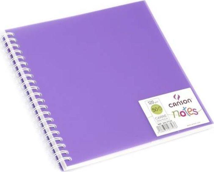 Canson БлокнотдлязарисовокCansonNotesцвет фиолетовый 50 листов 204127723204127723Блокноты Canson Notes прекрасно подходят для современных художников. Они идеальны для ежедневных записей, набросков, карандаша, пастели и чернил.Благодаря высококачественной бумаге, гелиевые и масляные чернила не просачиваются, а пластиковая обложка защищает листы от смятия.Бумага в блокнотах соответствует международному стандарту ISO 9706, не содержит кислот, производится без применения оптических отбеливателей, устойчива к плесени.