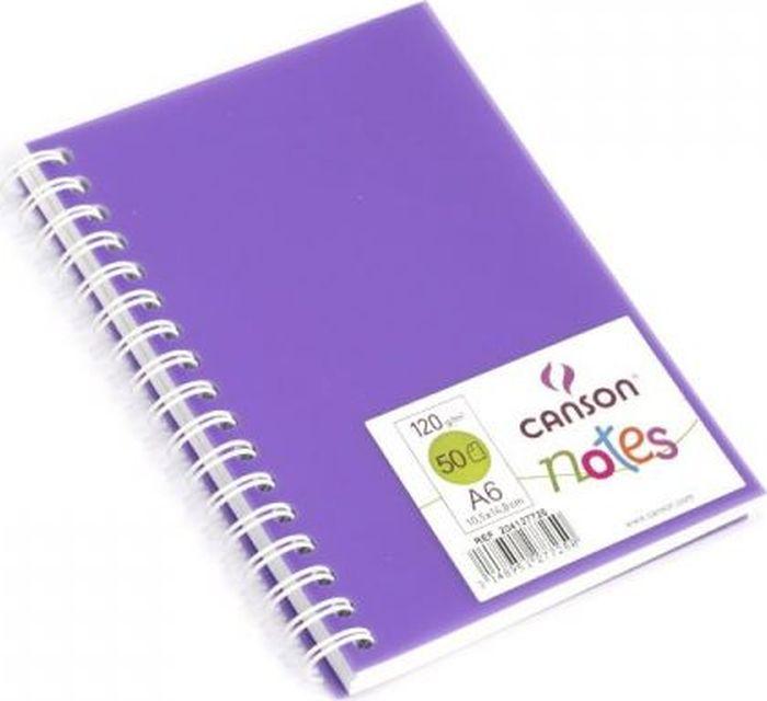 Canson БлокнотдлязарисовокCansonNotesцвет фиолетовый 50 листов 204127725204127725Блокноты Canson Notes прекрасно подходят для современных художников. Они идеальны для ежедневных записей, набросков, карандаша, пастели и чернил.Благодаря высококачественной бумаге, гелиевые и масляные чернила не просачиваются, а пластиковая обложка защищает листы от смятия.Бумага в блокнотах соответствует международному стандарту ISO 9706, не содержит кислот, производится без применения оптических отбеливателей, устойчива к плесени.