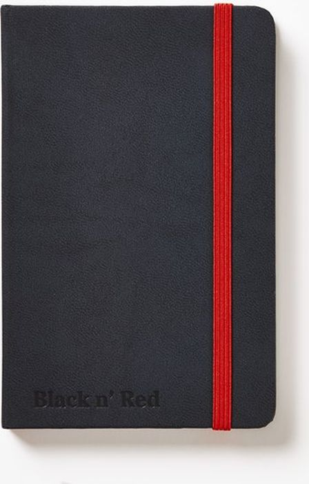 Oxford Блокнот Black 'n' Red Business Journal Hard Cover A6 72 листа 400033672 -