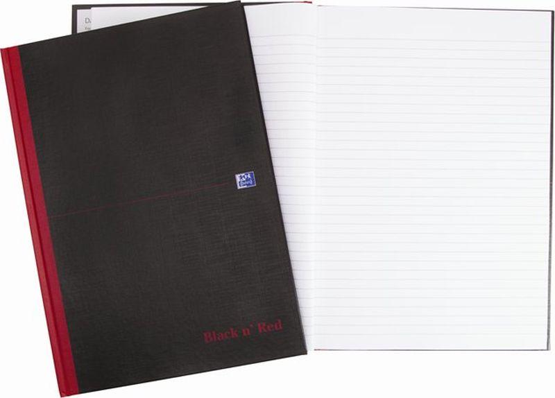 Oxford Блокнот Black 'n' Red Bookbound Notebook 96 листов 400047606400047606Бизнес-тетрадь Oxford Black n Red идеально подойдет для профессионалов, ценящих качество и надежность письменных принадлежностей. Такая тетрадь может быть использована как в личных целях, так и в качестве регистрационного журнала или архивных записей. Благодаря специальному переплету тетрадь раскрываетсяна 180 градусов, что позволяет использовать сразу обе страницы на развороте.