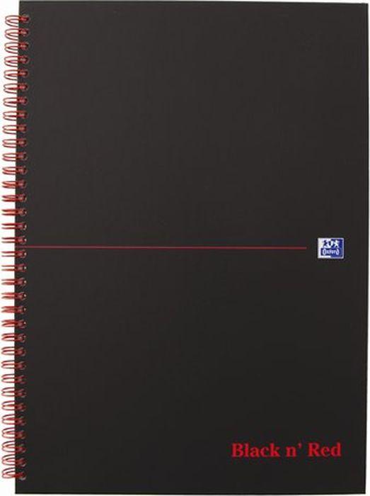 Oxford Блокнот Black 'n' Red Cardboard 70 листов 400047609400047609Бизнес-тетрадь Oxford Black n Red идеально подойдет для профессионалов, ценящих качество и надежность письменных принадлежностей. Такая тетрадь может быть использована как в личных целях, так и в качестве регистрационного журнала или архивных записей. Благодаря специальному переплету тетрадь раскрываетсяна 180 градусов, что позволяет использовать сразу обе страницы на развороте.
