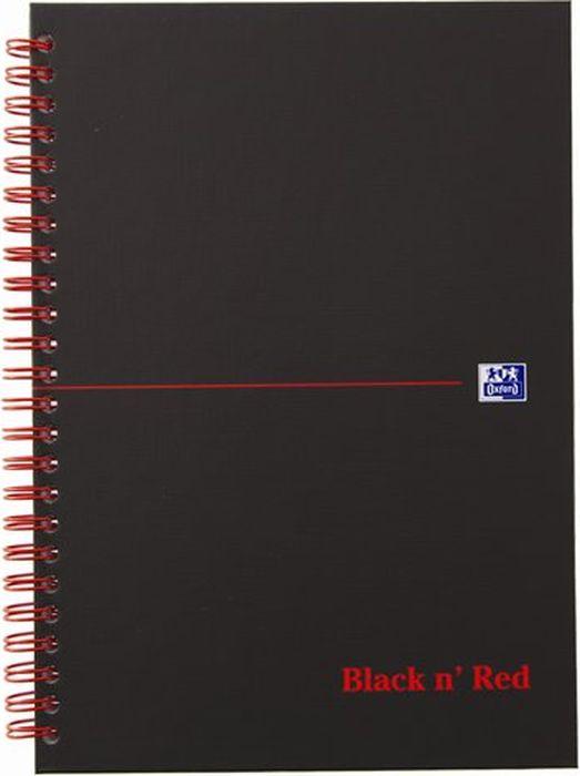 Oxford Блокнот Black 'n' Red Cardboard 70 листов в клетку 400047652400047652Бизнес-тетрадь Oxford Black n Red идеально подойдет для профессионалов, ценящих качество и надежность письменных принадлежностей. Такая тетрадь может быть использована как в личных целях, так и в качестве регистрационного журнала или архивных записей. Благодаря специальному переплету тетрадь раскрываетсяна 180 градусов, что позволяет использовать сразу обе страницы на развороте.